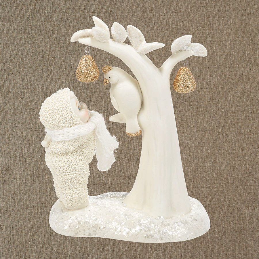 Department 56 snowbabies ornaments - A Partridge In A Pear Tree Snowbabies