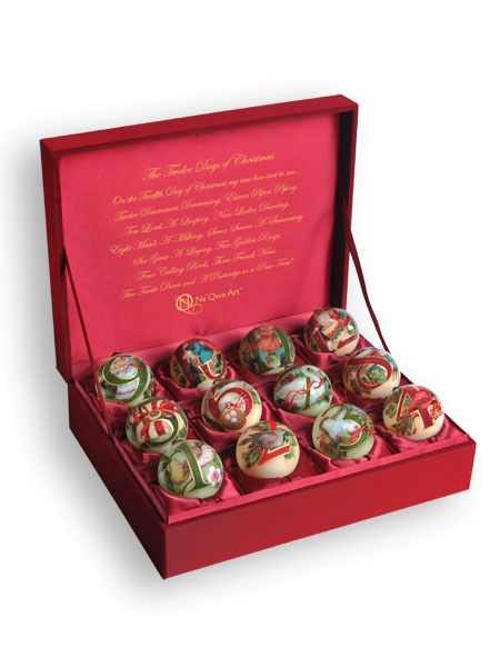 Complete Christmas Tree Ornament Sets